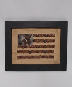 Take a look at this Americana Flag Wall Art by Craft Outlet on #zulily today!