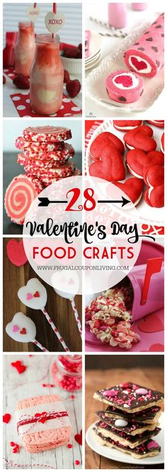 28 Days of Kid's Valentine's Day Food Crafts on Frugal Coupon Living.  Take a look at these Kid's Food Crafts for great Valentines' Day Party Ideas. #kidsfoodcrafts #valentinesday #valentinesdaycrafts #crafts #foodcrafts #valentinesdayideas #recipes #recipeideas #valentinesideas