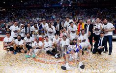 Campeones de Europa 2015, la novena ya ésta aquí