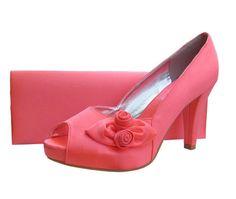 Rosebud C Satin Platform Las Shoes Evening Shoeatching Bags Perfect For Weddings
