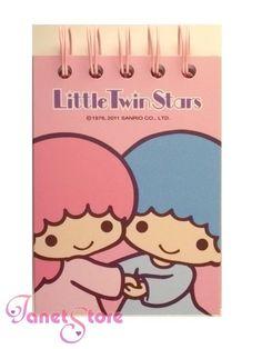 【2011】Mini Notebook ★Little Twin Stars★