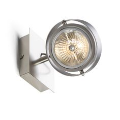 Wall/ceiling light with a directional reflector. The dimensions of the base are H/W/D cm. Spot Light, Cassie, Lamps, Ceiling Lights, Studio, Interior, Wall, Design, Lightbulbs