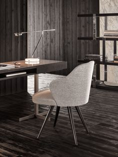 Products | Chairs and Stools | Minotti  | Leslie Little Armchairs