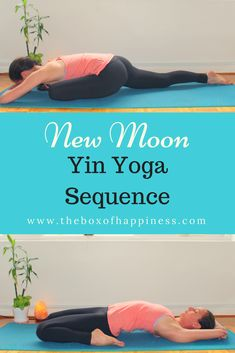 NEW MOON YIN YOGA SEQUENCE A new moon is the perfect time to reflect, tune in and set an intention for the cycle ahead. It's about introspection and renewal aligned with our essence.This yin yoga sequence is designed to help you slow down and tune within in order to access your inner wisdom to support you in... #Yoga