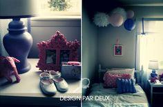 cute #pink and #purple big #girl bedroom