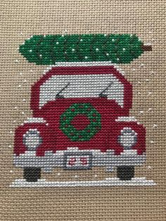Thrilling Designing Your Own Cross Stitch Embroidery Patterns Ideas. Exhilarating Designing Your Own Cross Stitch Embroidery Patterns Ideas. Cross Stitch Christmas Ornaments, Xmas Cross Stitch, Cross Stitch Needles, Counted Cross Stitch Patterns, Cross Stitch Charts, Cross Stitch Designs, Cross Stitching, Cross Stitch Embroidery, Christmas Tree