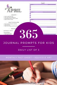 Journal Prompts For Kids, Conversation Starters For Kids, National Sibling Day, Cool Journals, Back To School Teacher, Writing Challenge, Preschool Learning Activities, Kids Writing, Quotes For Kids