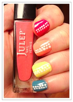 Julep NOTD: Spring is in the air #nails