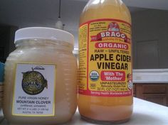 Img Apple cider vinegar and honey first thing in the morning. The results are so beneficial