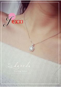 fdeaf856cc53 Best Necklaces On Aliexpress · 925 sterling silver necklace and pendants  jewelry for women with box chain. Best selling Aliexpress