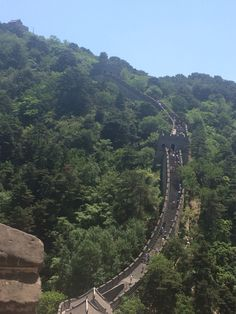 I climbed the Great Wall! And might have fallen on my face lol!