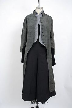 Just discovered this website and it's designer is my long lost twin in his/her fashion sensibilities!! This jacket and vest is wonderful! I love Ivey Abitz!