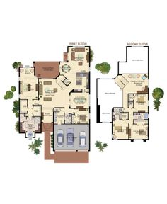 The Rosewood Plan by GL Homes in West Palm Beach, FL  offers a private master bedroom, 4 additional bedrooms, 4 baths and 3,898 square feet.