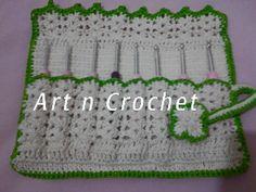 εϊз Art n Crochet εϊз: Um Mimo Para Mim e Minhas Agulhas :)