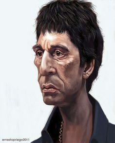 Al Pacino by Ernesto Priego