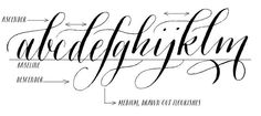 introduction to modern calligraphy fonts - Google Search