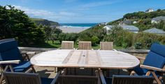 Cornwall Holiday Cottages Mawgan Porth Blue Seas