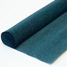 Italian Crepe Paper roll 180 gram - 560 Dark Green Cartot...