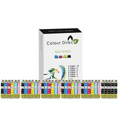 From 12.59 35 Colour Direct Compatible Ink Cartridges Replacement For Epson Stylus Photo R265 R285 R360  Rx560 Rx585 Rx685 P50 Px650 Px660 Px700w Px710w Px720wd Px730wd Px800fw Px810fw Px820fwd Printers