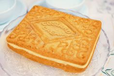 Giant Custard Cream cake mould from The Iconic Cake Company. Custard Cream Cake, 40th Cake, Birthday Cake, Cream Biscuits, Biscuit Cake, Cake Tins, Cookies, Cake Mold, Yummy Cakes