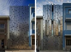 House 77 - dIONISO LAB also took sustainability into account with the steel panels protecting the interior setting from insulation.