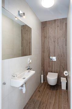 Bathroom Renovation Cost, Half Bathroom Remodel, Small Bathroom Renovations, Guest Bathrooms, Small Full Bathroom, Small Toilet Room, Bathroom Design Luxury, Bathroom Design Small, Minimalist Toilets