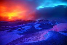 Fimmvorduhals Eruption, Iceland