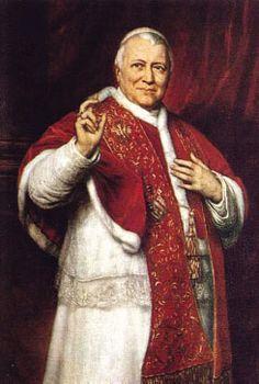 Sua Santidade, Pio IX , aliás o Irmão Giovanni