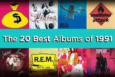 The 20 Best Albums of 1991.