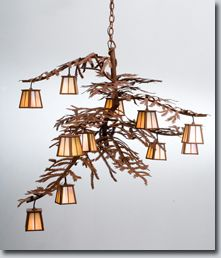 Nature inspired lighting Quirky Twelve Small Lanterns Adorn The Pine Branch Shaped Arms Of This Unique Nature Inspired Chandelier The Handsome Twelve Light Chandelier In Rust Finish Has Pinterest 10 Best Nature Inspired Lights Images Transitional Chandeliers