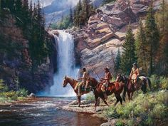 Somerset Fine Art - Spirit of Pi'tamaka - Running Eagle by Martin Grelle
