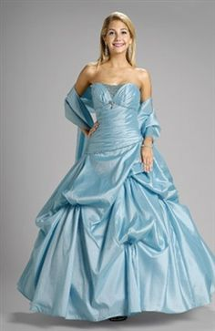 Beading Strapless Floor-length Ball Gown Quinceanera #Dress Style Code: 02229 $144