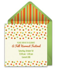 Free Party Invitations Templates Online Best Free Leaf Pile Invitations  Pinterest