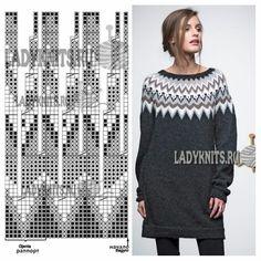 Fair Isle Knitting Patterns, Sweater Knitting Patterns, Knitting Charts, Lace Knitting, Knitting Stitches, Knit Patterns, Tejido Fair Isle, Punto Fair Isle, Icelandic Sweaters