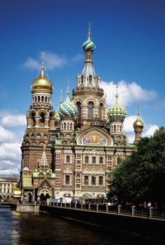 Discover Northern Europe - Saviour-of-the-Blood Cathedral, St. Petersburg, Russia