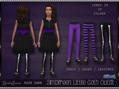 Sims 4 CC's - The Best: Clothing and Tights for Girls by SrslySims