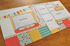Free Scrapbook Layouts | Posted by Debbie Sanders, Scrapbook Generation at 10:30 AM