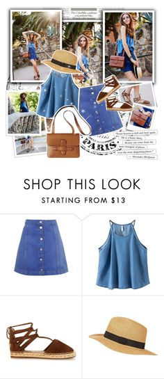 """""""Too close Now"""" by mlucyw on Polyvore featuring Topshop, Chicnova Fashion, Aquazzura, women's clothing, women's fashion, women, female, woman, misses and juniors"""