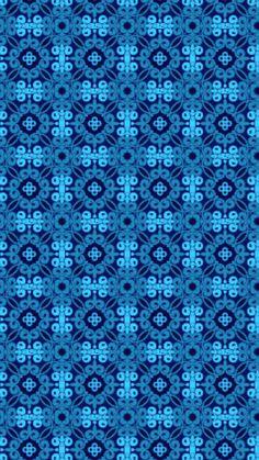 Wallpaper For Your Phone, Iphone Wallpaper, Fractal Art, Fractals, Pattern Designs, Patterns, Blue Wallpapers, Paper Beads, Martha Stewart
