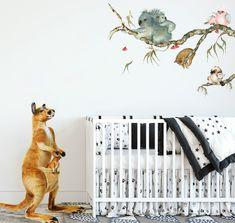 Baby Nursery Neutral, Baby Nursery Decor, Nursery Themes, Nursery Ideas, Australian Nursery, Reborn Nursery, Minimalist Baby, Baby Koala, Baby Boy Or Girl