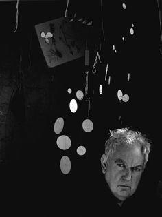 Alexander Calder Woodbury CT 1957 | Arnold Newman