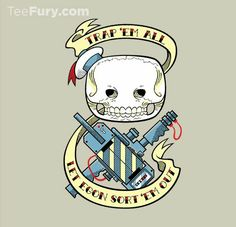 Trap Them All from TeeFury.com... Ghostbusters!