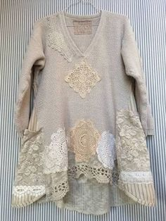 lace sleeves women's refashion - Google Search