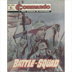COMMANDO COMIC NO 1024 1976 TILLEYS of SHEFFIELD