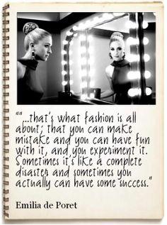 Emilia-De-Poret Fashion Quote