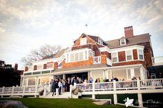 Eastern Point Yacht Club Wedding, Cocktail Hour, Seaside Wedding, Boston Wedding Venues