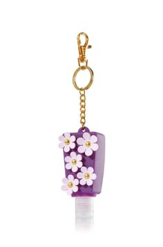 Purple Flowers PocketBac Holder - Bath & Body Works   - Bath & Body Works