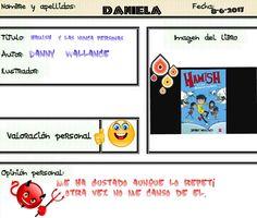 Daniela supera otro reto, el de leer un libro con un nombre propio en el título. Baseball Cards, Books To Read, People