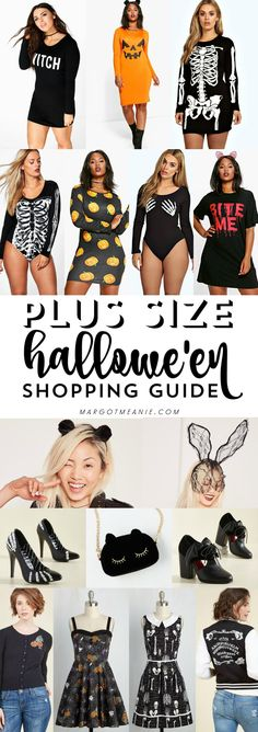 Plus Size Halloween ft ModCloth, MissGuided & Boohoo Plus!