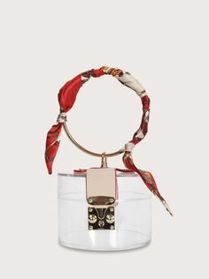 Now, this is the cutest bag you'll see this season! Carry your essentials in this mini bag on your arm and keep your hands free for cheering on your favorite team. #stadiumbags #clearstadiumbags #clearstadiumpurse #clearhandbags #southernliving Clear Handbags, Clear Bags, Red Scarves, Bag Sale, Mini Bag, Free Gifts, Bucket Bag, Shopping Bag, Personalized Items